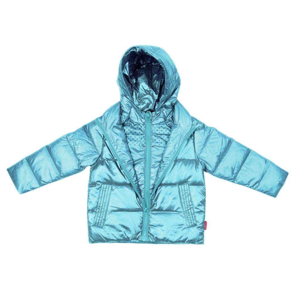 Car Seat Safety Road Coat®Down Jacket - Aqua