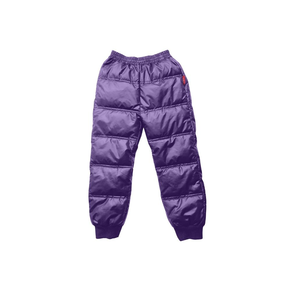 Soft Pack-able Snow Pant - Purple