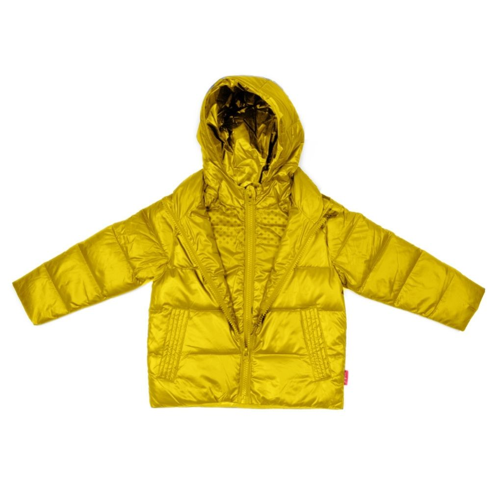 Car Seat Safety  Road Coat®Down Jacket - Yellow