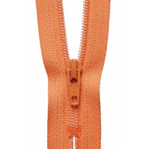 YKK Closed End Nylon Zip - 15cm - #043 Dark Peach