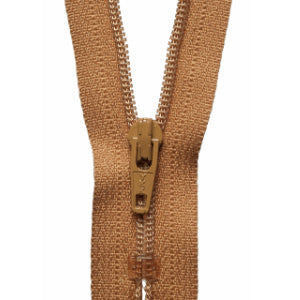 YKK Closed End Nylon Zip - 15cm - #508 Old Gold
