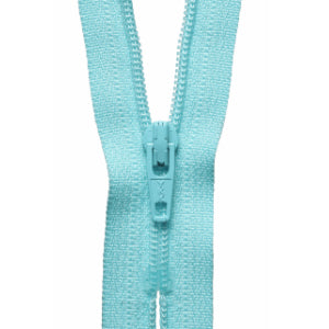 YKK Closed End Nylon Zip - 15cm - #544 Pale Turquoise