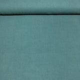 sea green double gauze fabric on bolt