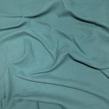 sea green double gauze fabric