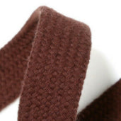 Drawstring cord - 15mm - Brown