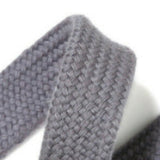 Drawstring cord - 15mm - Grey