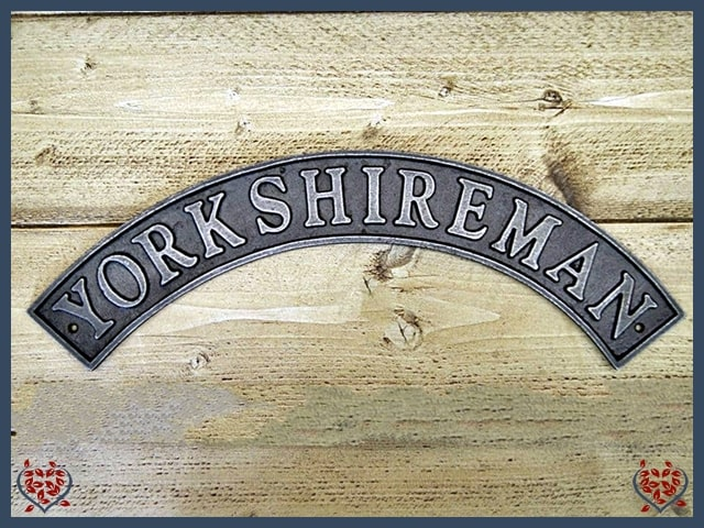 TRAIN SIGN ~ YORKSHIREMAN | Wall Art - Paul Martyn Interiors