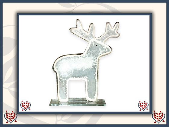 REINDEER ~ SMALL | Nobile Glass Animal - Paul Martyn Interiors