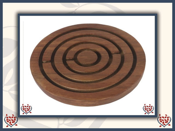 LABYRINTH WOODEN GAME | Traditional Games