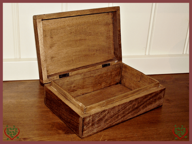 4X4 BOX | Wooden Boxes & Bowls - Paul Martyn Interiors