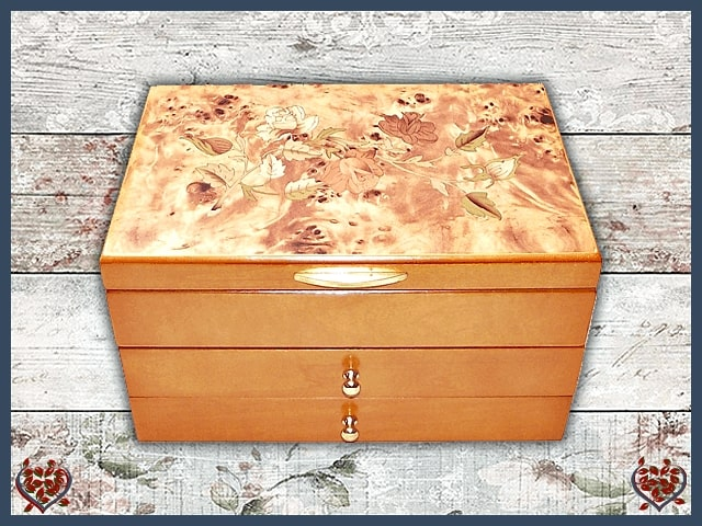 MEAGAN JEWELLERY BOX | Jewellery Boxes - Paul Martyn Interiors