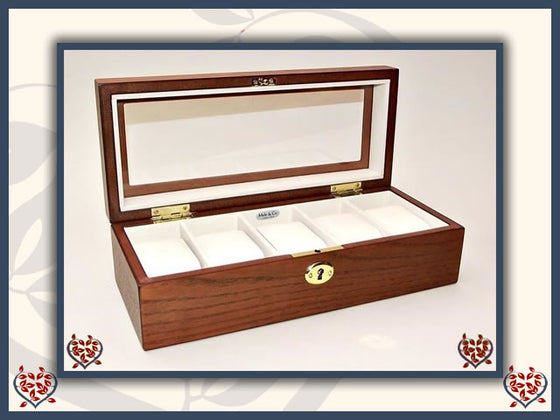 JACKSON WATCH BOX | Jewellery Boxes - Paul Martyn Interiors