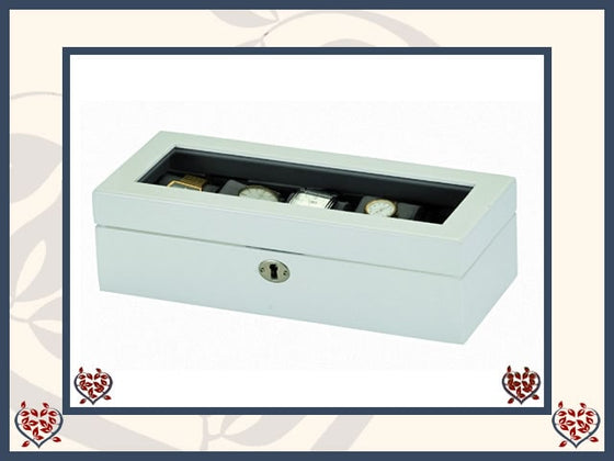 JAMES WATCH BOX | Jewellery Boxes - Paul Martyn Interiors