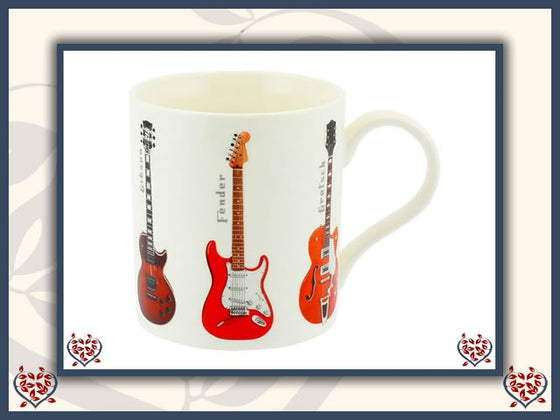 GUITAR CHINA MUG | Mugs