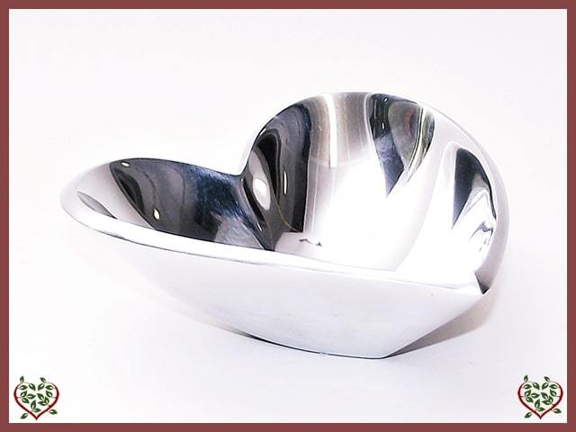SILVER HEART BOWL | Kitchenware - Paul Martyn Interiors