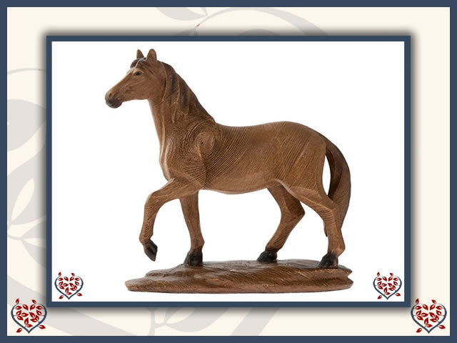 HORSE FIGURE | Wooden Home Accessories