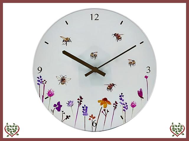 BUSY BEE CLOCK |  Wall Clocks - Paul Martyn Interiors