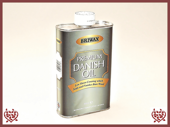 BRIWAX – PREMIUM DANISH OIL 500ml - Paul Martyn Interiors