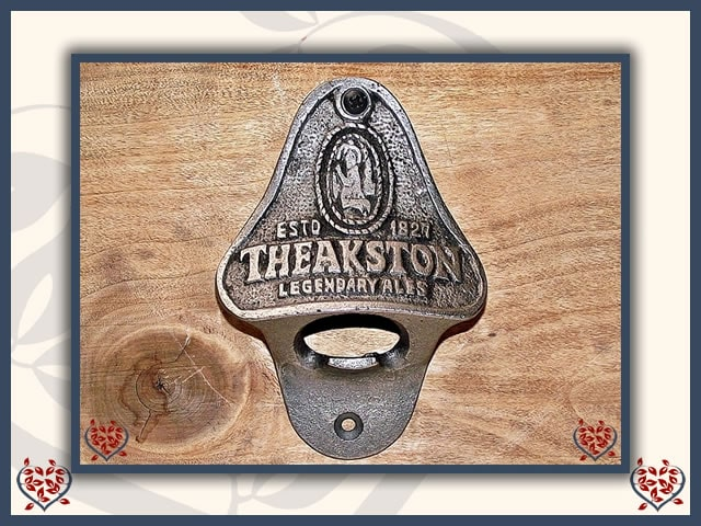 BOTTLE OPENER ~ THEAKSTONS | Bottle Opener - Paul Martyn Interiors
