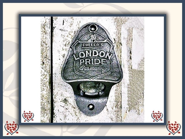 BOTTLE OPENER ~ FULLERS LONDON PRIDE | Bottle Opener - Paul Martyn Interiors