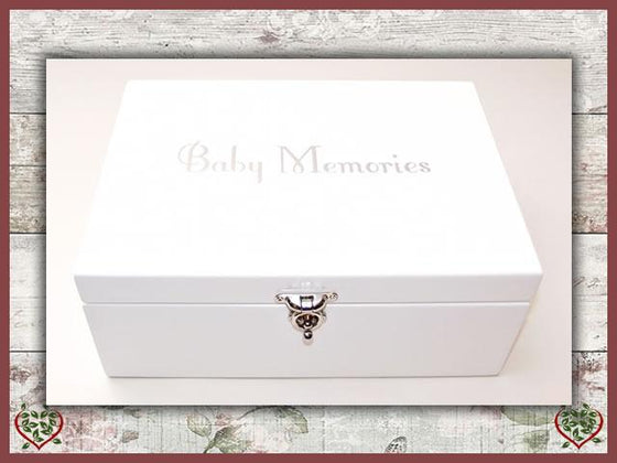 BABY MEMORIES BOX | Jewellery Boxes - Paul Martyn Interiors