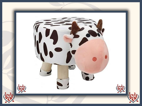 COW FOOTSTOOL | Children's Furniture - Paul Martyn Interiors