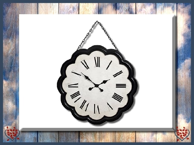 LARGE HANGING WALL CLOCK | Clocks - Paul Martyn Interiors