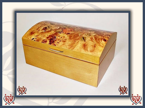 MILLIE WOODEN JEWELLERY BOX | Jewellery Boxes - Paul Martyn Interiors