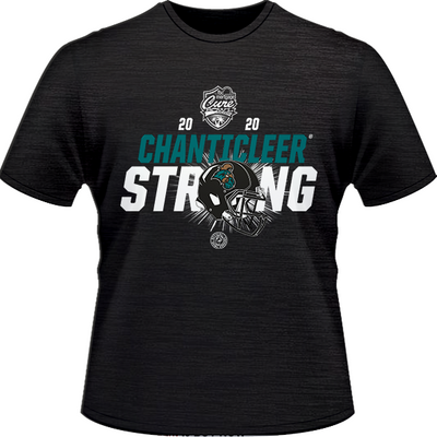 2020 COASTAL CAROLINA CHANTICLEERS TONAL TEE