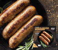 Lincolnshire Sausages (24 Bags of 6x40g): 144 Sausages