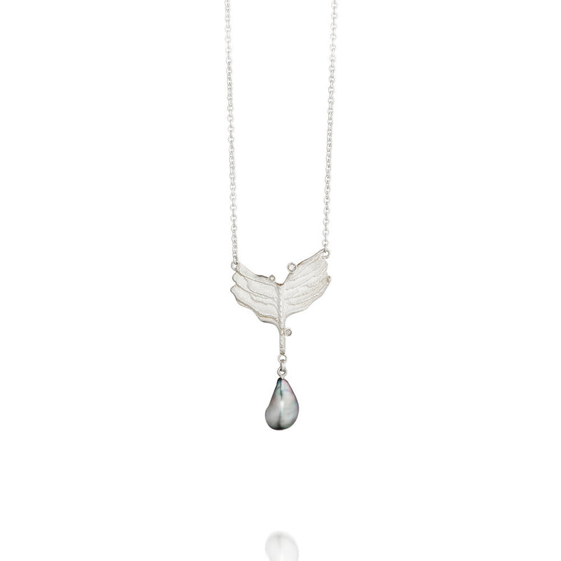 Nanna silver necklace