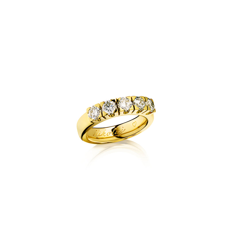 Raw Eternity Ring
