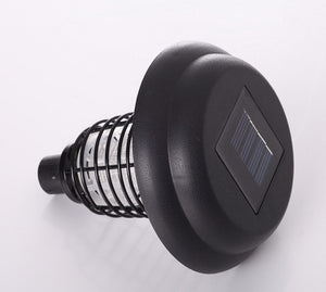 Solar Anti-Mosquito Fly Bug Zapper Insect Pest Lamp