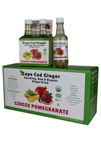 Organic Ginger Pomegranate (12 - 12oz Bottles)