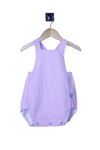 LR0015 Solid Baby Pink Heirloom Bubble Romper (9-12 mo.)