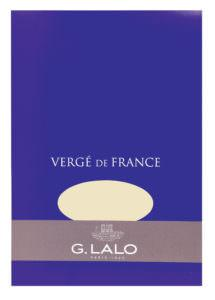 G. Lalo Vergé de France Writing Tablet - l11416 - Small - Ivory writing tablet G. Lalo