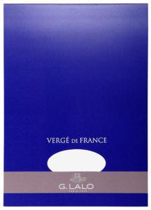 G. Lalo Vergé de France Writing Tablet - l12700 - Large - White writing tablet G. Lalo