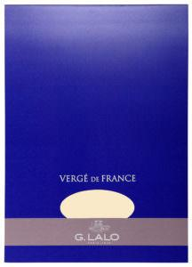 G. Lalo Vergé de France Writing Tablet - l12716 - Large - Ivory writing tablet G. Lalo
