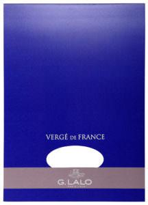G. Lalo Vergé de France Writing Tablet - l12750 - Large - Extra White writing tablet G. Lalo