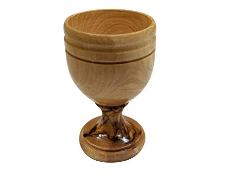 Holy Land Olive Wood Chalice