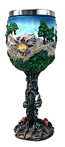 Tree Man Chalice Resin Body Stainless Steel