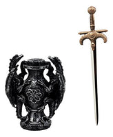Climbing Dual Dragon Letter Opener/Athame