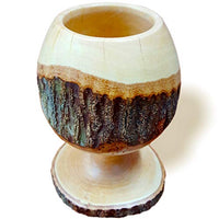 Hand-carved Wood Chalice