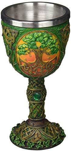 "Tree of Life Goblet, 7.5"", Multicolor"