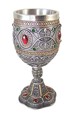 Rhinestone Jeweled Holy Grail Chalice