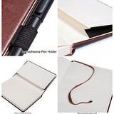 Ruled Leather Diary Hardcover