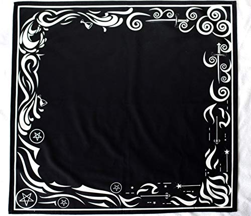 Black Velvet Altar Cloth