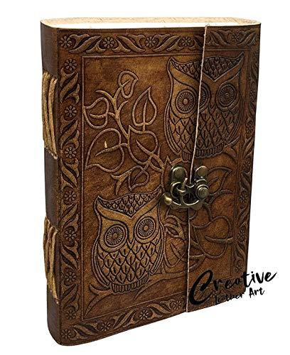 Leather Owl Journal