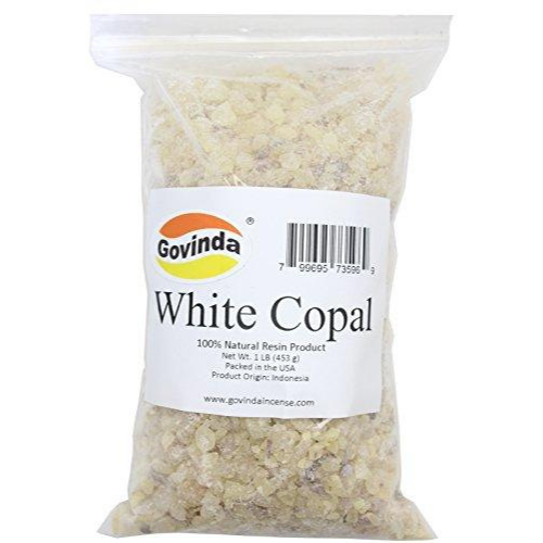 Govinda - White Copal Incense Resin 1 lb