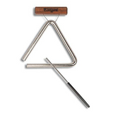 "6"" Studio-Grade Triangle with Beater and Holder"